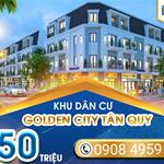 KDC Golden City ngay trung tâm thị trấn Tân Quy chỉ 650tr