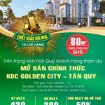 mở bán 250 nền dự án Golden city tân quy.chiết khấu khủng cho khách hàng đặt cọc