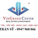 Bán nhà mt Trần Quang Khải 4,1 x 23 nở hậu 5,4 nhà 1 trệt 4 lầu thang máy,giá đầu tư