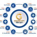 Golden City Tân Quy - kết nối đô thị - tạo lập thành công. Chỉ 650tr/nền,
