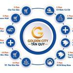 ĐẤT NỀN GOLDEN CITY TÂN QUY, MẶT TIỀN TỈNH LỘ 8, SHR, NGÃ TƯ TÂN QUY, 650TR, AGRIBANK HỖ TRỢ 50%