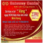 GATEWAY CENTER VỊ TRÍ VÀNG NGAY KCN LỚN NHẤT MINH HƯNG ( HÀN QUỐC).