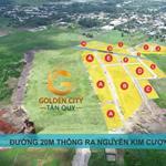 250 Lô GOLDEN CITY TÂN QUY, Cơ Hội Vàng Đầu Tư, Giá Gốc CĐT.