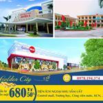 Bán đất nền KĐT Golden City,Thị Trấn Tân Quy, 700 triệu/80m2m, CK 1CV.LH: 0978194374
