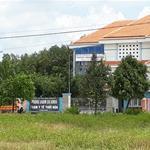 bán gấp 600m2 đất thổ cư ngay bệnh viện hòa hảo, mặt tiền đường tiền 25m, dân cư đông đúc giá 870tr