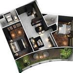 sunshine diamond rever Mua căn hộ tặng sân vườn view 360