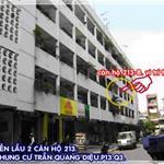 Chính chủ cần bán căn hộ 43,2m2 chung cư Trần Quang Diệu P13 Q3 LH Ms Thêm