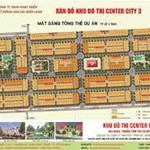 Dự án đất nền Center City 3 chỉ 574triệu/95m2. Pháp lý đầy đủ , thanh toán nhẹ. LH 0901555164