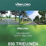 Tập đoàn Hưng Thịnh- VINH LONG NEWTOWN 850TR/NỀN 0909880027