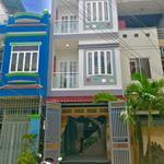 Nhà bán 1 trệt 2 lầu Mặt Tiền Đường Nguyễn Hữu Trí, 6x22m, Sổ Hồng Riêng, Có sân đậu xe hơi