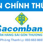 Sacombank hỗ trợ phát mãi các hạng mục BĐS thế chấp quá hạn thanh toán khu liền kề bến xe Miền Tây