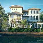 Biệt thự bên sông biệt lập hiếm  có giữa Lòng Sài Gòn  21 triệu/m2  LH:0909686046