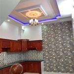 Bán nhà 1 trệt 2 lầu 4 phòng ngủ Mặt Tiền Hưng Nhơn, Bình Chánh, 5,3x20,6m. Sổ Hồng Riêng