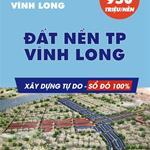 BÁN ĐẤT NỀN SỔ ĐỎ/ TTTP VĨNH LONG HẠ TẦNG HOÀN THIỆN , LH: 0909 390 699.../Thanh Lụa
