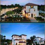 168 căn biệt thự vườn ven sông du thuyền cập bến mỗi nhà, giá 21 tỷ -27 tỷ LH 0909488911