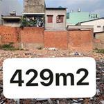 Bán đất 429m2 ngay ĐH Công Nghiệp Thực Phầm hẻm 266 đường Lê Trọng Tấn. Giá 22.5 tỷ TL