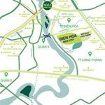Đất nền sổ đỏ sở hữu lâu dài Biên Hòa New City TT trả trước 50% LH 0909390699/