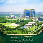 Phân phối chính thức CĐT Lê Phong – Căn hộ Emerald Golf View ngay mặt tiền QL 13.
