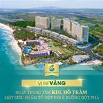 Cần bán căn hộ thương mại sở hữu lâu dài ngay Hồ Tràm, giá siêu tốt chỉ 38tr/m2 căn 1 phòng ngủ