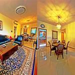 Saigon Pearl cho thuê căn hộ đẹp rộng 138m2, 3PN  view thành phố tuyệt đẹp