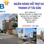 Ngân Hàng VIB Hỗ Trợ Vay Thanh Lý Tài Sản Bình Tân, Bình Chánh TPHCM, SHR, Bán Công Khai 16/08/2020