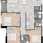 Bán căn hộ 3PN 2WC 85m2 tại chung cư New Galaxy MT Thống Nhất, TP Dĩ An, Bình Dương