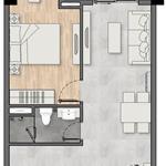 Suất nội bộ căn hộ 1Pn 1Wc 50m2 view quốc lộ 1K, tầng 12 vị trí đẹp tại New Galaxy Dĩ An
