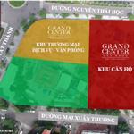 Mở bán căn hộ tầng cao,dự án Grand Center 01 Nguyễn Tất Thành, nhà thông minh, ở lâu dài