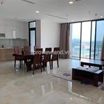 Vinhomes Golden River tòa Lux 6 cho thuê căn hộ 3PN, 122m2 đi kèm nội thất có view sông