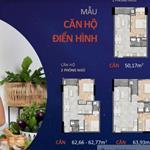 Ngân hàng cho vay 70% khi mua chung cư New Galaxy MT Thống Nhất, 2PN 62m2 giá 2,1 tỷ