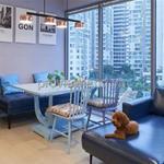 Thuê căn hộ Đảo Kim Cương 3PN, 117m2 nội thất cao cấp, view hồ bơi