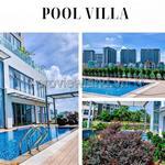 Diamond Island cho thuê căn Pool Villa 2 tầng 5PN, nội thất cao cấp