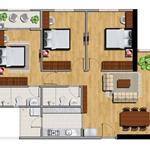 Chính chủ cần bán căn hộ Full nội thất mặt tiền Võ Văn Kiệt, 3PN 2WC