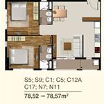 Cho thuê căn hộ hoàn toàn mới Q7, nội thất cao cấp, 2PN 2WC