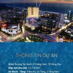 cần bán căn hộ du lịch , giá siêu rẻ chỉ 42tr/m2 căn 1 phòng ngủ ngay bãi sau Vũng Tàu