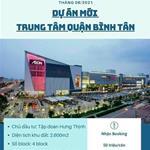 [Chính thức nhận đặt chỗ căn hộ cao cấp - kế bên AEON Bình Tân] 50tr/căn