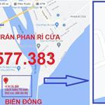 Chính chủ bán đất THỔ CƯ, 2 MẶT TIỀN, đi bộ ra biển chỉ 75 mét, gần Bàu Trắng, giá 1x triệu/m2