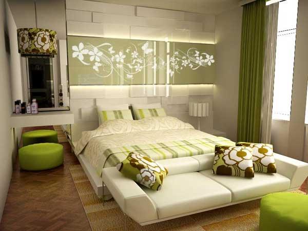 CFF phongthuychophongngu3 Trang trí theo phong thủy cho phòng ngủ vợ chồng trẻ