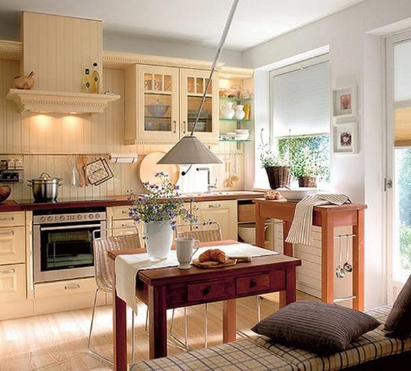 E27 cachtrangtribepdemlaihoakhichogiadinh2 Cách để bài trí bếp đem lại hòa khí cho gia đình