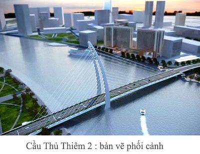 TPHCM vẫn muốn khởi công cầu Thủ Thiêm 2 vào năm 2015