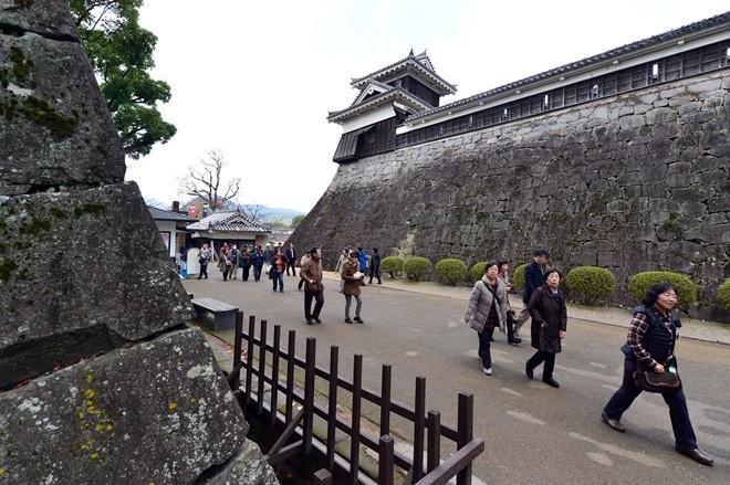 Kumamoto - lâu đài vĩ đại bậc nhất Nhật Bản