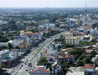 Thành phố Thủ Dầu Một (Bình Dương) lên đô thị loại II