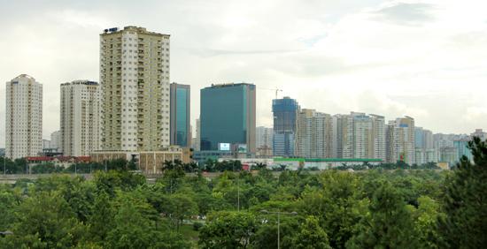 Thị trường bất động sản tiếp tục đà tăng trưởng