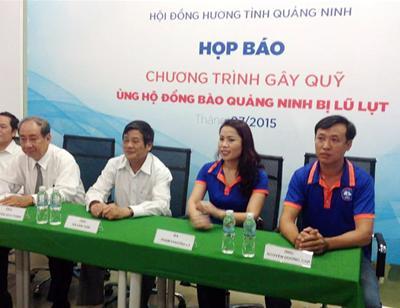 Hội đồng hương Quảng Ninh TP.HCM chung tay hướng về đất mẹ