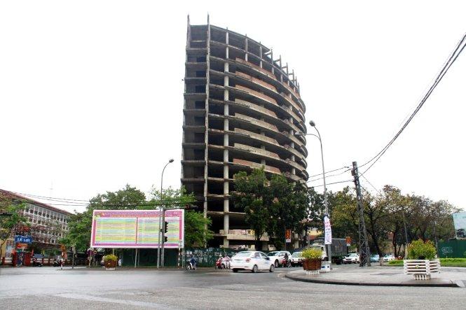 C97 huechophep Huế cho phép chuyển cao ốc xây dở làm bệnh viện