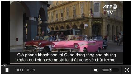 Ngỡ nàng giá phòng khách sạn ở Cuba đắt hơn cả Paris