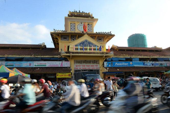 738 suachuachobinhtay Sửa chữa chợ Bình Tây chậm khởi công 9 tháng