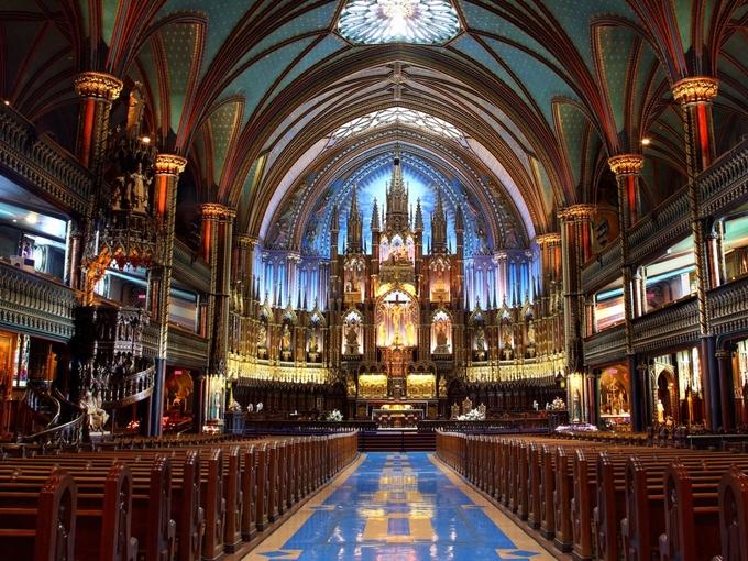 10 nhà thờ tráng lệ nhất thế giới
