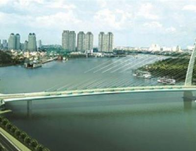Sẽ xây cầu Thủ Thiêm 4 nối Quận 2 và Quận 7