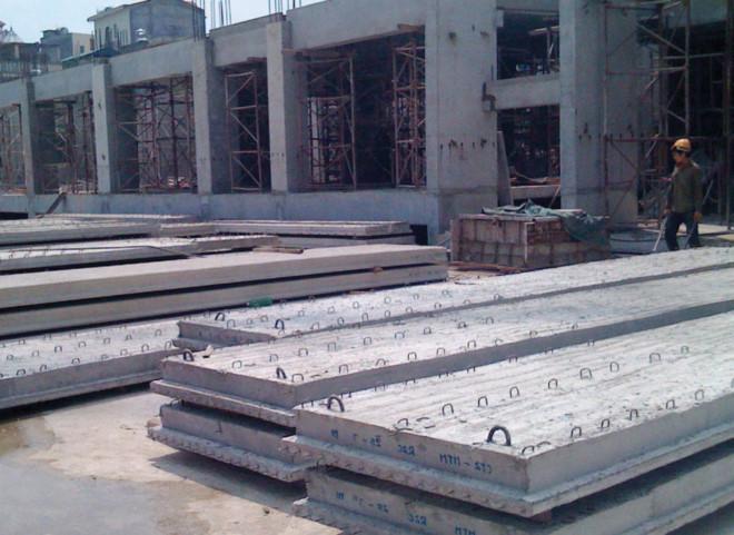Áp dụng định mức sản xuất cấu kiện bê tông đúc sẵn
